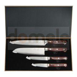 Zestaw 4-rech noży ze stali damasceńskiej Dan Woo BT-DK002...