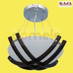 Lampa wisząca regulowana Kaja K-MD6473-3B-WN wenge...