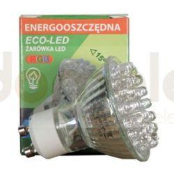 Żarówka 36 LED ECO-LED GU10 RGB 25st ...