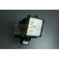 Lampa halogenowa zewnętrzna Massive Faro 500W z czujnikiem ruchu czarna...