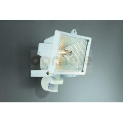 Lampa halogenowa zewnętrzna Massive Faro 500W z czujnikiem ruchu biała...