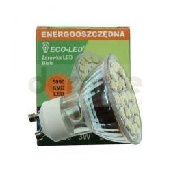 Żarówka 21 LED ECO-LED GU10 5050SMD GU10 120st barwa biała...
