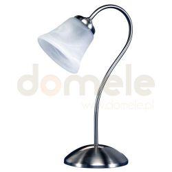 Lampka stołowa nocna Reality Livia E14 nikiel matowy...