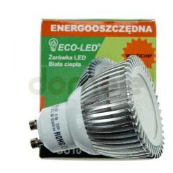 Żarówka Multichip ECO-LED GU10 80st barwa biała ciepła 240lm...