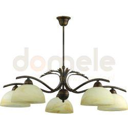 Lampa wisząca Aldex Korona 5 x E27 ...