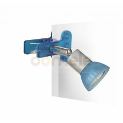 Lampka biurkowa LED LeuchtenDirekt Gory 2W niebieska...