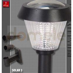 Lampa ogrodowa solarna LED Rum-Lux SOLAR-3...