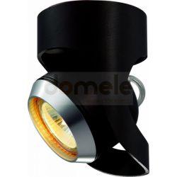 Lampa sufitowo-ścienna Elkim 1x35W 8088/BK...