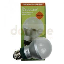 Żarówka LED ECO-LED E27 LB60 Multichip 130/WW/520/DIY...