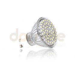 Żarówka LED Max-Led GU10 155 lm 48 LED BIAŁA CIEPŁA...