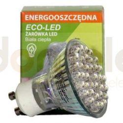 Żarówka 36 LED ECO-LED GU10 60st biała ciepła 90 lm...