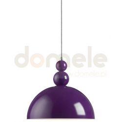 Lampa wisząca LampGustaf Hobbs E27 60W fioletowa...