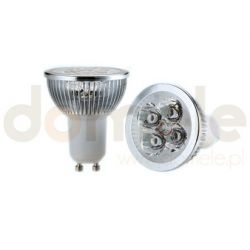 Żarówka LED Allando GU10 4W barwa biała naturalna...