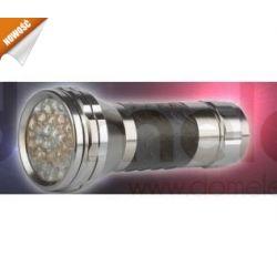 Latarka diodowa 28 LED z kompasem, kieszonkowa....