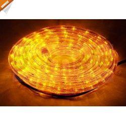 WĄŻ ŚWIETLNY LED 10m ŻÓŁTY, OŚWIETLENIE, LAMPKI ŚWIĄTECZNE...