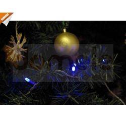 LAMPKI ŚWIĄTECZNE CHOINKOWE ŁAŃCUCH WĄŻ WEWNĘTRZNE LEDOWE 50szt LED...