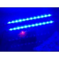2 x TUBY NEONY 9' 24 LED BLU
