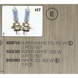 Żarówki  H7  xenon 55w  100w