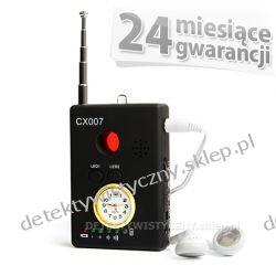 Nowoczesny wykrywacz podsłuchów i kamer ETCX007