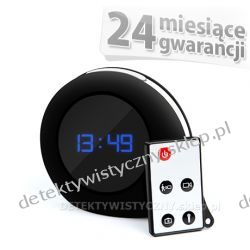 Zegar Budzik z kamerą + Detektor Ruchu do 32GB