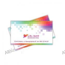Wizytówka PLASIC 0,7/80x55 zaokrąglone rogi/250szt