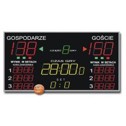Tablica do Hal Sportowych K&G TZG-800