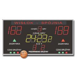 Tablica do Hal Sportowych K&G TZG-600G