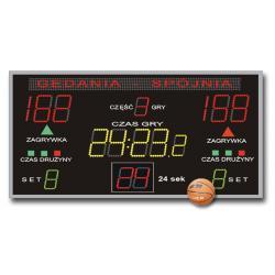 Tablica do Hal Sportowych K&G TZG-500G