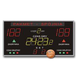 Tablica do Hal Sportowych K&G TZG-300G