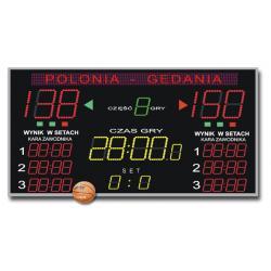 Tablica do Hal Sportowych K&G TZG-800G