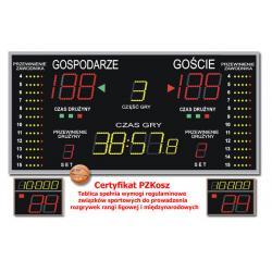Tablica do Hal Sportowych K&G TZG-1000F