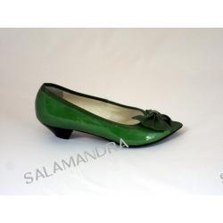 Czółenka damskie SARA 661 Zielone