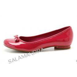 Balerina Clarks Cocoa Creme Raspberry
