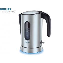 Czajnik elektryczny PHILIPS HD 4690 / 00 (1,5 l / 2400 W, srebrno czarny, Alu.)