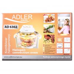 Kombiwar halogenowy ADLER AD 6302