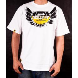 T-Shirt EAT MY DIRT Skillz Up (biały)