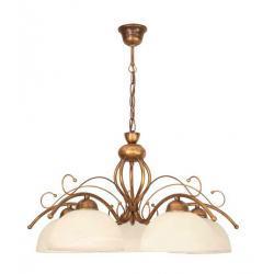 Żyrandol Diana lampa wisząca 5 płomienna (brąz)