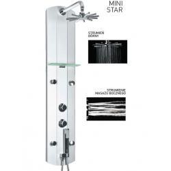 Panel prysznicowo-masażowy bez termostatu Aquatec Mini Star