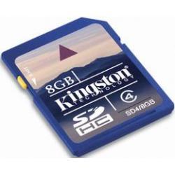 KINGSTON Secure Digital (SDHC Class-4) 8 GB HIGH CAPACITY