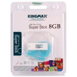 KINGMAX PENDRIVE SUPER STICK 8 GB Ultra-Mały+Pokrowiec LUDEK