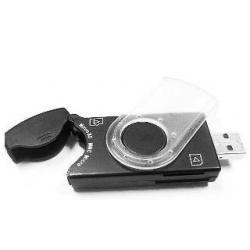 CZYTNIK KART PenDrive SIM/SD/MMC/MS Black USB 2.0