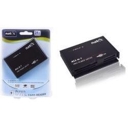 CZYTNIK KART Natec Zewnętrzny ALL-IN-ONE BLACK USB 2.0