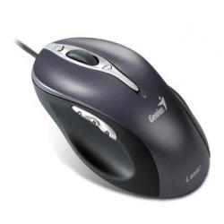 GENIUS Mysz Laserowa ERGO 525V LASER,1600 DPI, 4D, USB, Blac