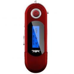 TRAK DMP-112 MP3/2GB/Dyktafon/USB czerwony