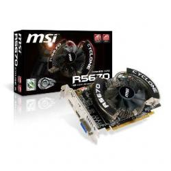 VGA MSI 5670 Cyclone 1024MB DDR5 128b HDMI DisplayPort PCI-E