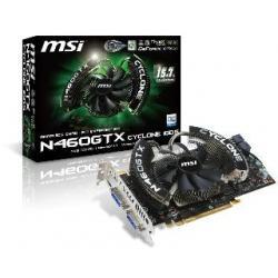 VGA MSI 460GTX CYCLONE OC z CUDA 1024MB DDR5 256bit PCI-E