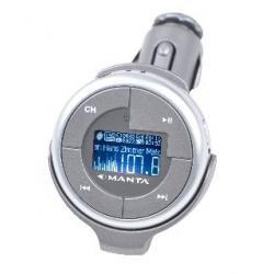 Samochodowy odtwarzacz MP3 MANTA MM212 Demon Car Twix 2GB