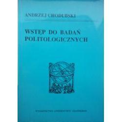 Chodubski Andrzej, Wstęp do badań politologicznych