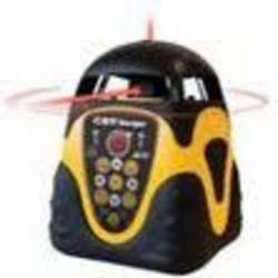 Niwelator laserowo obrotowy z pionownikiem do góry i w dół