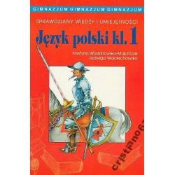 Sprawdziany wiedzy i umiejętności Język polski